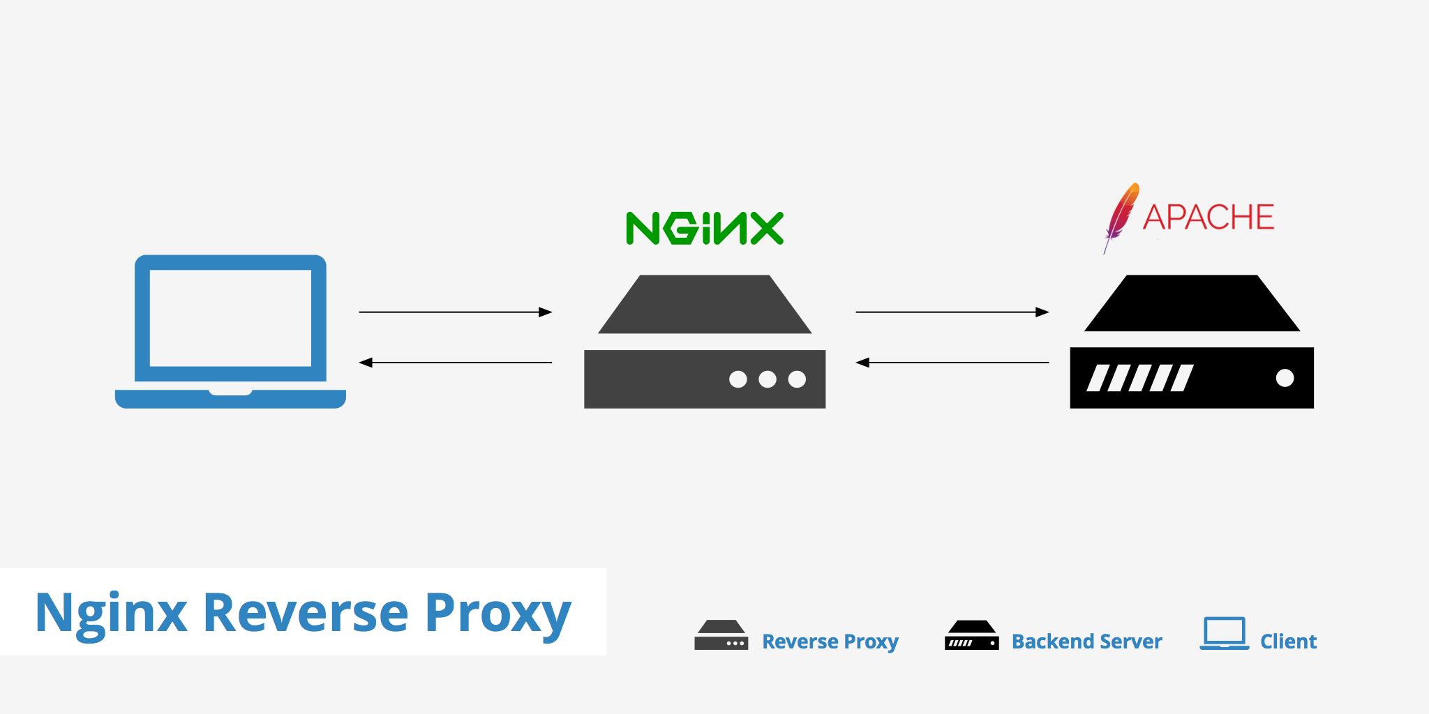 Nginx বিপরীত প্রক্সি